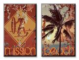 New Mission Beach Sztuka autor Mj Lew