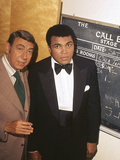 Muhammad Ali with Howard Cosell Backstage, July of 1975 Photographic Print by Isaac Sutton