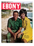 Ebony February 1972 Photographic Print by Moneta Sleet