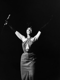 Legendary Entertainer Josephine Baker Addresses Her Adoring Fans Photographic Print by G. Marshall Wilson