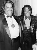 Rev. Al Sharpton at James Brown, 58th Birthday Celebration, 1991 Photographic Print by Frederick Watkins