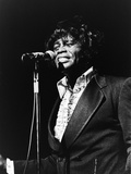 James Brown at the Soul Bowl, 1982 Photographic Print by Norman Hunter