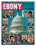 Ebony February 1971 Photographic Print by Herbert Temple