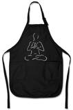 Yoga Poses Apron Forkle