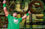 WWE John Cena - Green Shirt Print