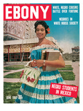 Ebony June 1955 Photographic Print by David W. Jackson