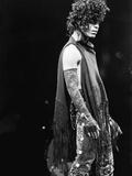 Vandell Cobb - Prince, Concert Performance in This 1984 Fotografická reprodukce