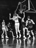 Wilt Chamberlain, Kansas University Jayhawks, 1957 Photographic Print by David Jackson