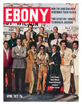 Ebony April 1972 Photographic Print by Moneta Sleet