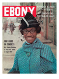 Ebony February 1969 Photographic Print by Moneta Sleet