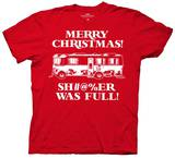 National Lampoon's Christmas Vacation - Sh%&ers Full T-shirts