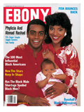 Ebony May 1987 Photographic Print by Moneta Sleet