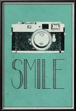 Smile Retro Camera Posters