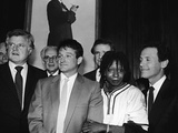 Whoopi Goldberg and Her Comic Relief Cohorts, March 12, 1986 Photographic Print by Goldberg Sorrell