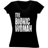 Juniors: Bionic Woman - Logo T-shirts