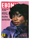 Ebony April 1982 Photographic Print by Norman Hunter