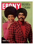 Ebony February 1973 Photographic Print by Moneta Sleet