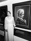 Rosa Parks,   Salute to Black Women in Art, 1978 Photographic Print by Norman Hunter