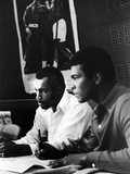 Muhammad Ali and Ken Norton, March of 1973 Photographic Print by Ted Williams