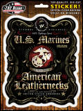 USMC Fighting Spirit Sticker Stickers