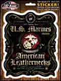 USMC Fighting Spirit Sticker Stickers