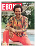 Ebony March 1976 Photographic Print by Moneta Sleet