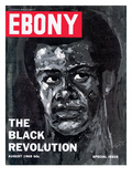 Ebony August 1969 Photographic Print by Herbert Temple