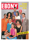 Ebony August 1990 Photographic Print by James Mitchell