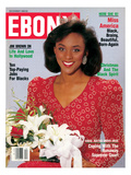 Ebony December 1989 Photographic Print by James Mitchell