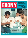 Ebony January 1971 Photographic Print by Isaac Sutton
