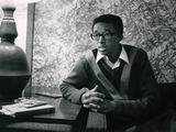 Arthur Ashe,1968 Photographic Print by Hal Franklin