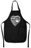 Heart - Love Different Languages Apron Apron