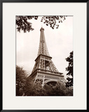 Eiffel Tower in Spring Poster by Jonathan Larsen