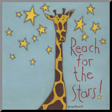 Reach for the Stars Mounted Print by Anne Tavoletti