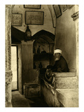 Mosque Guard on the Mount of Olives Giclee Print