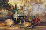 Le Chateau Mounted Print by Marilyn Hageman