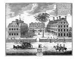 Colleges at Cambridge in New England, America Giclee Print
