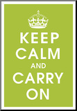 Keep Calm (kiwi) Mounted Print
