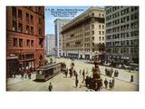 San Francisco: Market Street Giclee Print