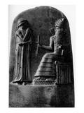 King Hammurabi of Babylon Giclee Print