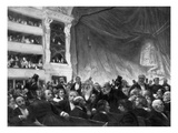 Interval at the Comedie Francaise Giclee Print by Edouard Joseph Dantan