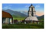 California: Mission San Antonio De Pala Giclee Print