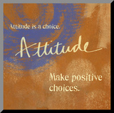 Attitude Mounted Print by Linda Woods