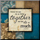 Together Umocowany wydruk autor Jennifer Pugh