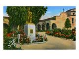 California: Mission San Juan Capistrano Giclee Print