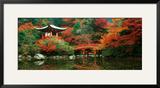 Santuario de Daigo, Kyoto (Japón) Pósters por Umon Fukushima