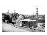 A Roof-Top View of Cairo Giclee Print