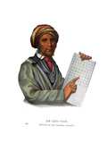 Sequoyah, or George Guess Giclee Print by Charles Bird King