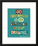 Go Confidently Art by Helen Dardik