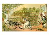 Misfortune at Tulip Hall Giclée-Druck von Thomas Rowlandson